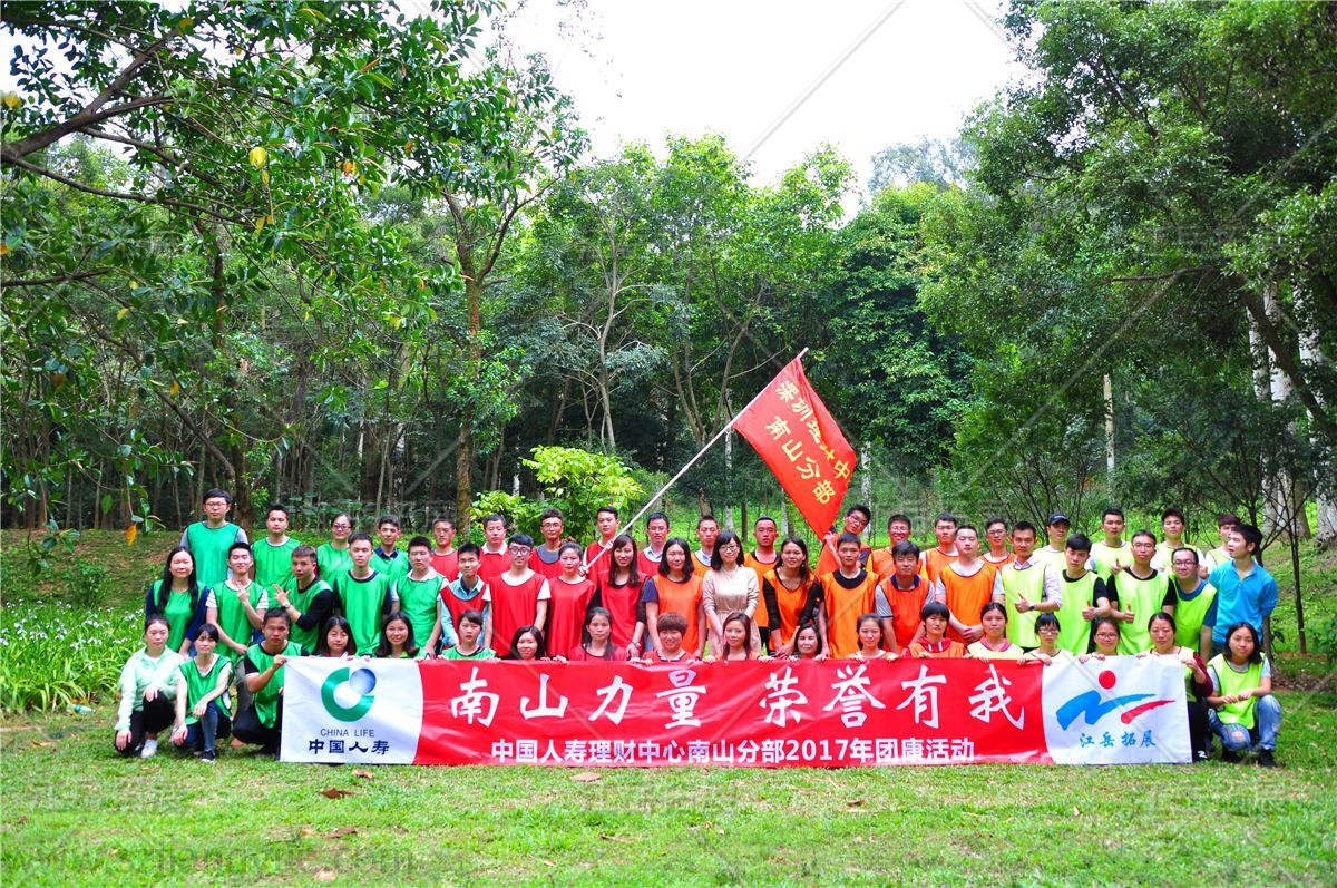 中国人寿理财中心南山分部拓展训练